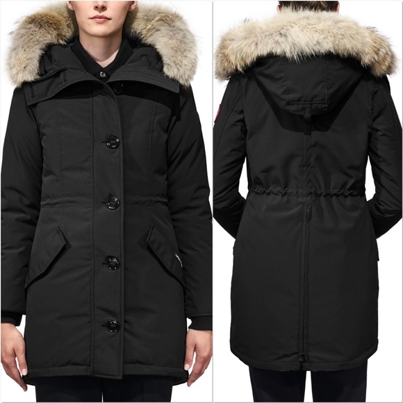 Canada Goose Canada Goose Rossclair Fusion Fit Genuine Coyote Fur Trim Down Parka | Outerwear